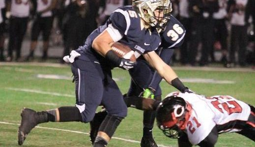 CERRITOS, CA-The St. John Bosco football team came out and punched Corona Centennial in the mouth...