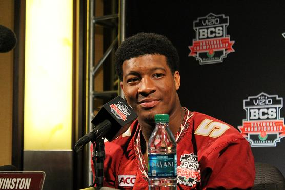 Jameis Winston is confident that Florida State will win the national title. Photo Credit: Dennis J. Freeman/News4usonline.com