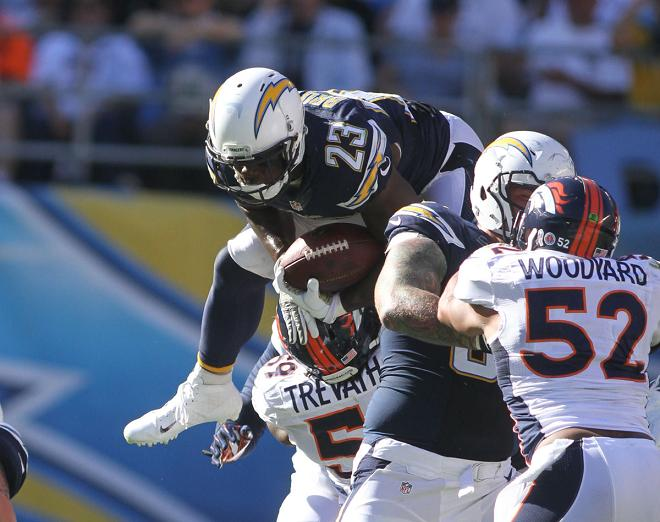 OK. Chargers will go over the Denver Broncos in Mile High Stadium. Photo Kevin Reece/News4usonline.com