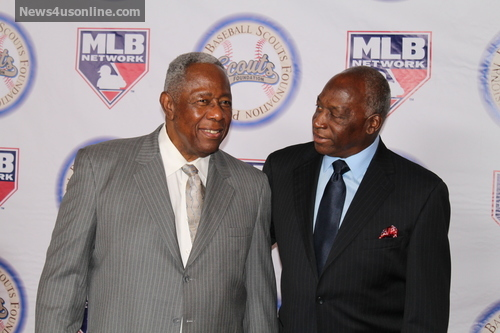 Scouts Pay Tribute to Hank Aaron