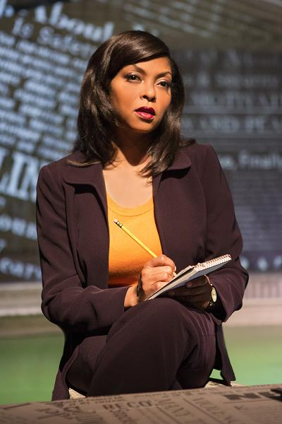 "Actress Taraji P. Henson gives a strong performance in the stage play, ""Above the Fold."" Photo Credit: Jim Cox"