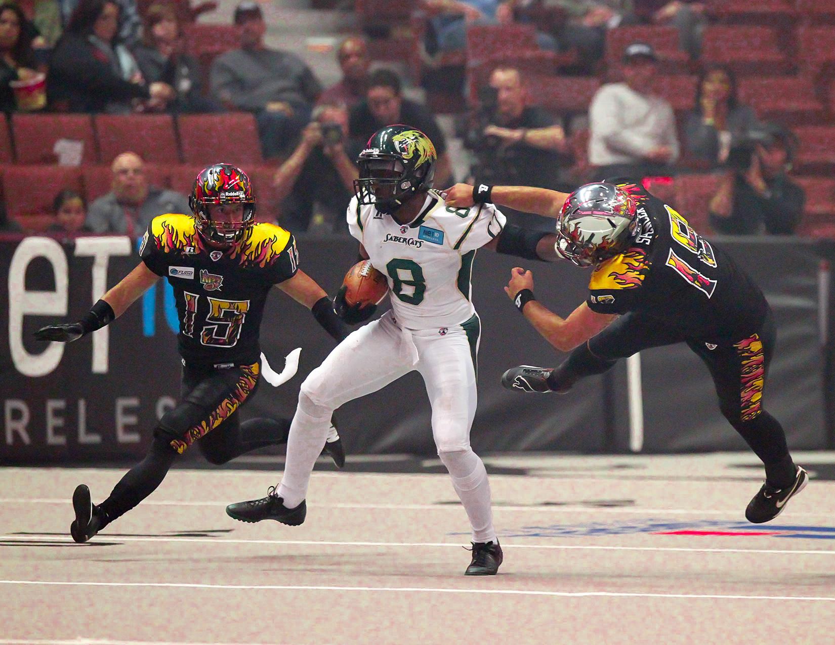 LA Kiss vs San Jose Sabercats
