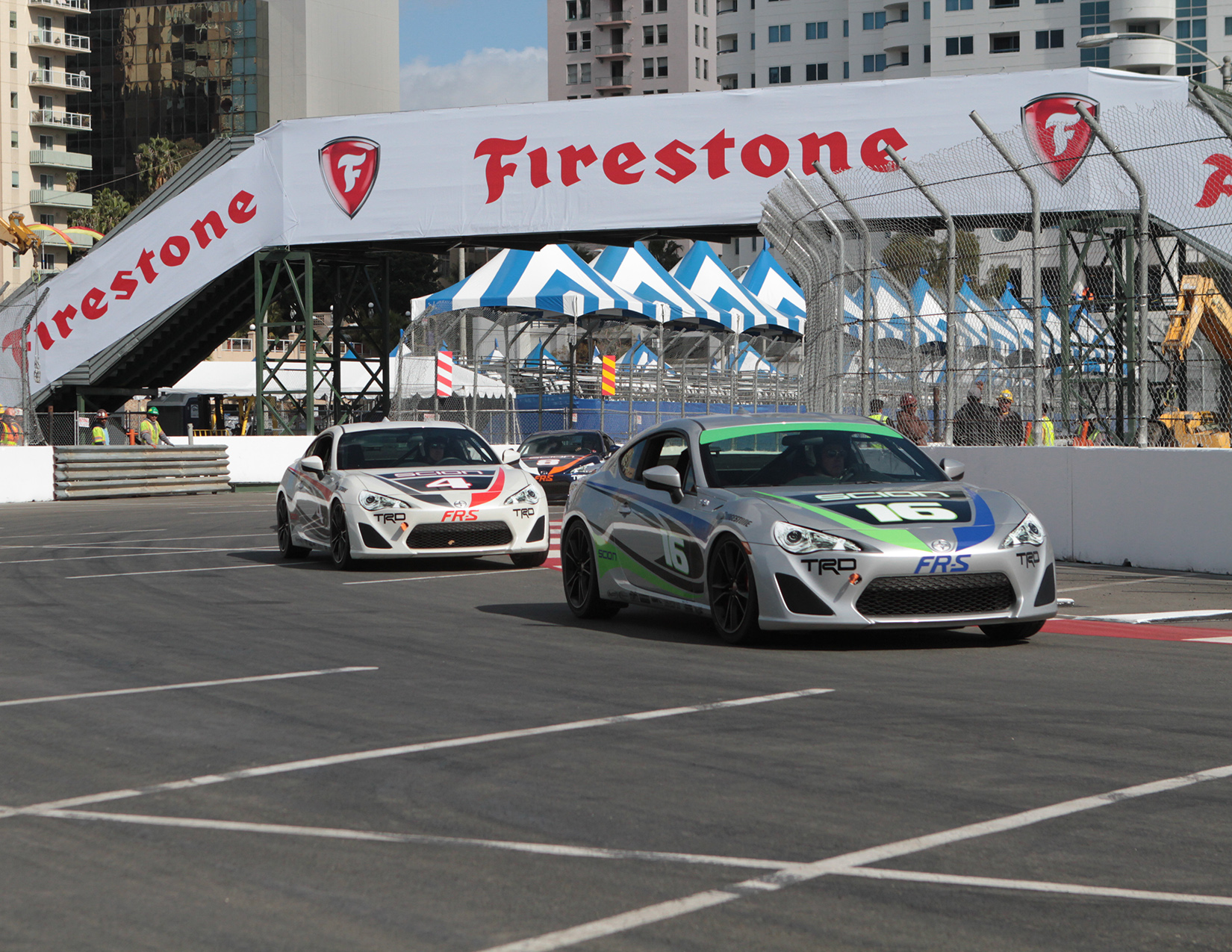 Toyota of Long Beach Grand Prix celebrity race