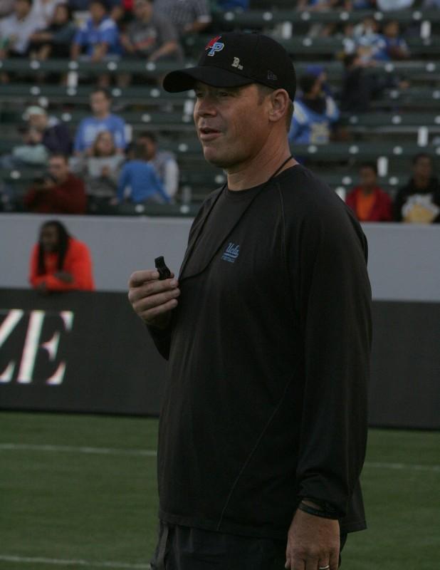 Head Coach Jim Mora Photo Credit: Jevone Moore courtesy of Full Image 360 / News4usonline.com
