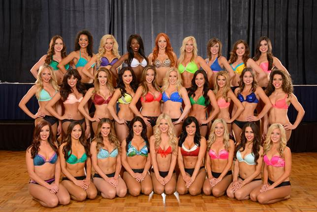 The 2014-15 Charger Girls.