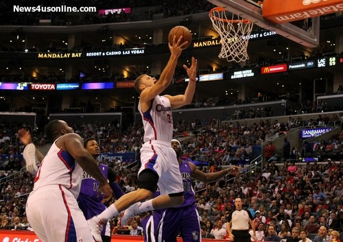 Blake Griffin and the Los Angeles Clippers topped the Sacramento Kings, 117-101, at STAPLES Center. Photo Credit: Dennis J. Freeman/News4usonline.com