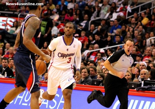 Chris Paul, seen here against the Atlanta Hawks, will lead the way for the Los Angeles Clippers during the NBA playoffs. Photo Credit: Dennis J. Freeman/News4usonline.com