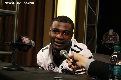 Auburn defensive back Chris Davis came to terms with the San Diego Chargers as an undrafted free agent. Photo Credit: Dennis J. Freeman/News4usonline.com