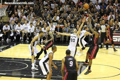 The Batman factor: The Spurs had no answer for LeBron James in Game 2. Photo Credit: Antonio Uzeta/News4usonline.com