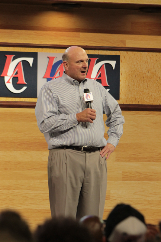 Steve Ballmer bought the Los Angeles Clippers after former owner Donald Sterling was ousted from the NBA for making racist comments. Photo Credit: Jevone Moore/News4usonline.com/Courtesy Full Image 360