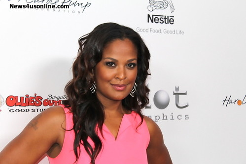 Former boxer and model Laila Ali. Photo Credit: Dennis J. Freeman/News4usonline.com