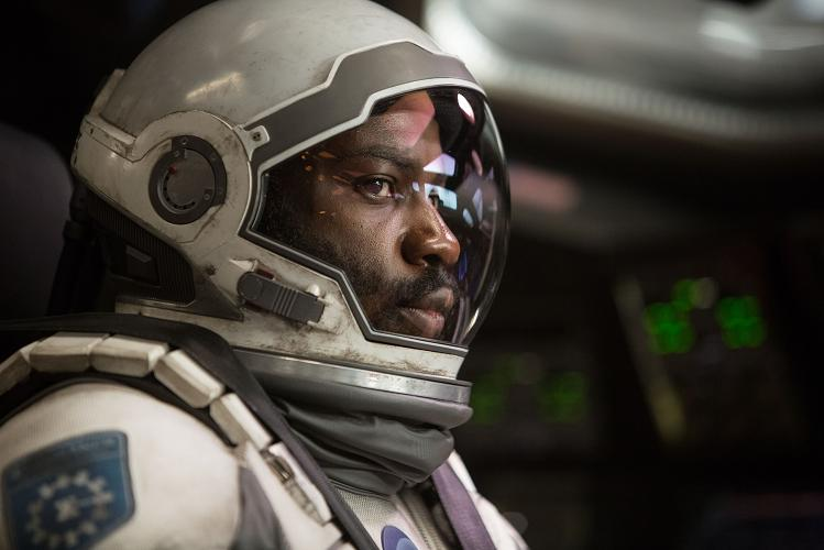 David Gyasi in INTERSTELLAR, from Paramount Pictures and Warner Brothers Entertainment, in association with Legendary Pictures.