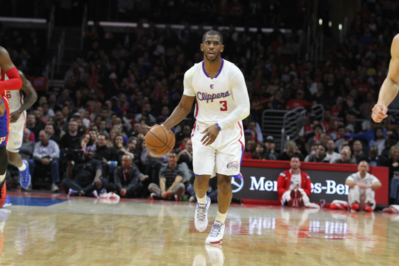 Chris Paul and the Los Angeles Clippers were kept in check by the Toronto Raptors. Photo  Credit: News4usonline.com