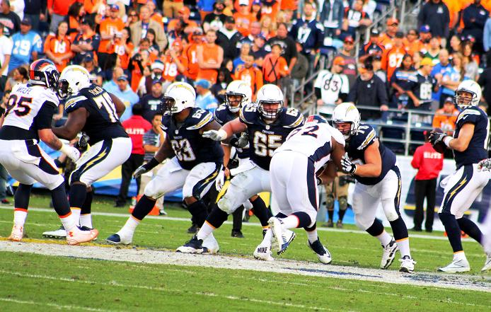 The San Diego Chargers fell short against the Denver Broncos, going dow in defeat by the score of 22-10. Photo: News4usonline.com