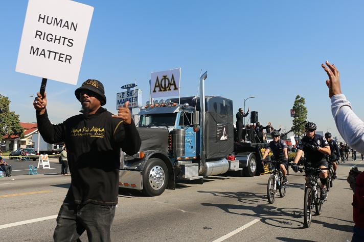 The 30th Annual Kingdom Day Parade in Los Angeles. Photo by Thai Lee