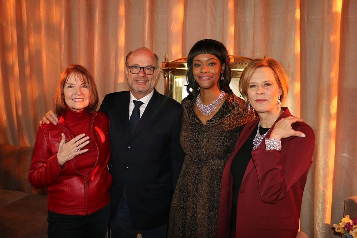 AG Awards Executive Producer Kathy Connell; President and Chief Executive Officer Henri Bargurdjian; Actress and SAG Awards Nominee,  Sufe Bradshaw: SAG Awards Committee Chair & SAG Foundation Board President JoBeth Wiilliams