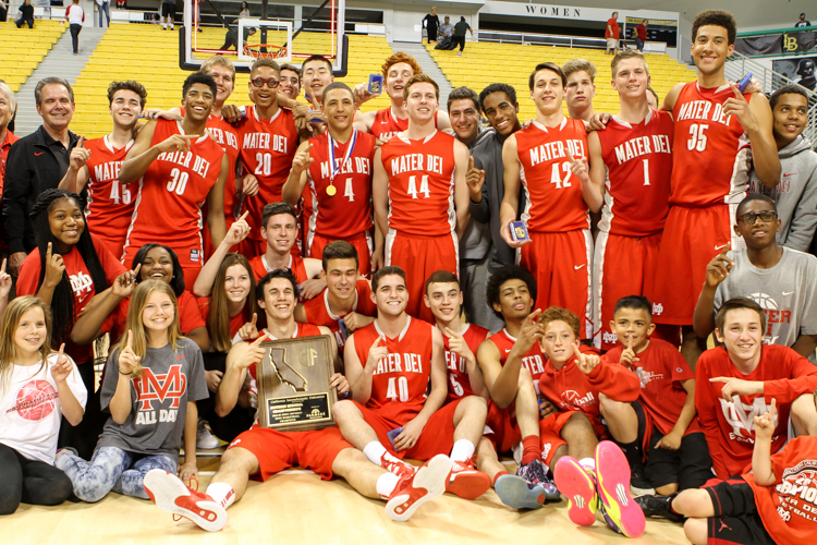 Mater Dei Boys Open Division Regional Champions 2015 Photo by Jevone Moore Full Image 360