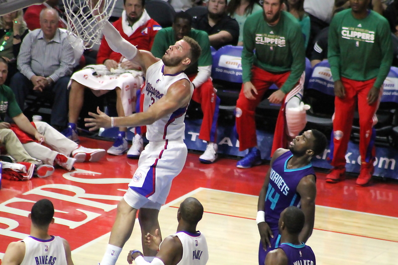 Coming through: Blake Griffin and the Los Angeles Clippers came through at the right time to defeat the Charlotte Hornets at Staples Center Tuesday, March 17, 2015. Photo by Dennis J. Freeman/News4usonline.com