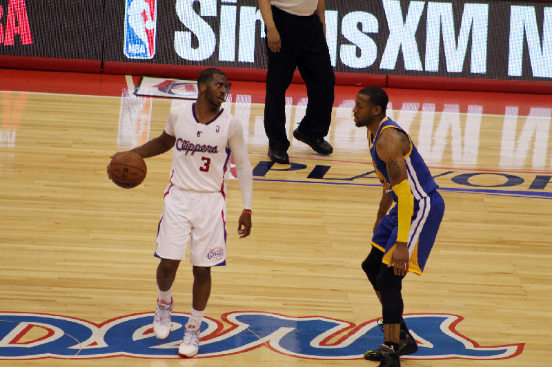 Chris Paul and the Los Angeles Clippers may meet up again in the postseason against Andre Igoudala and the Golden State Warriors. Photo Credit: Dennis J. Freeman/News4usonline.com