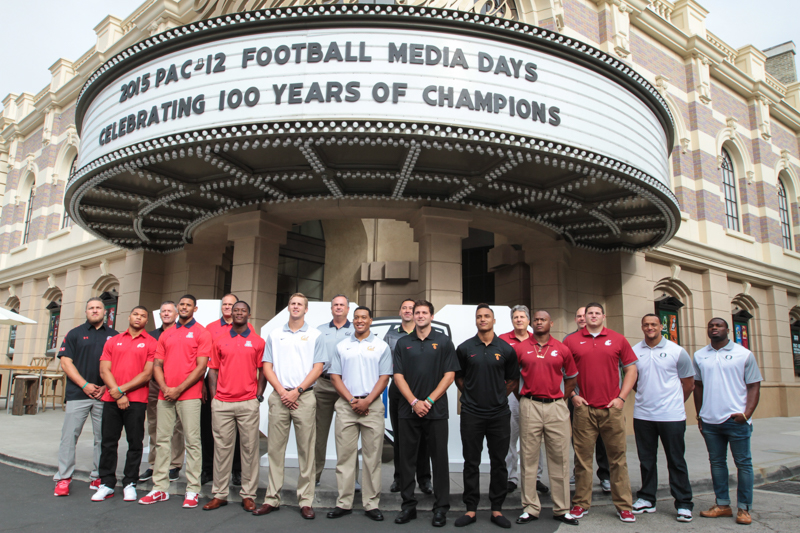 Pac 12 100 Years of Champions 1915 - 2015