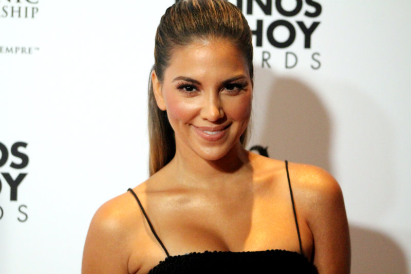 Access Hollywood correspondent Liz Hernandez at the 2015 Latinos De Hoy Awards. Photo by Dennis J.Freeman/News4usonline.com