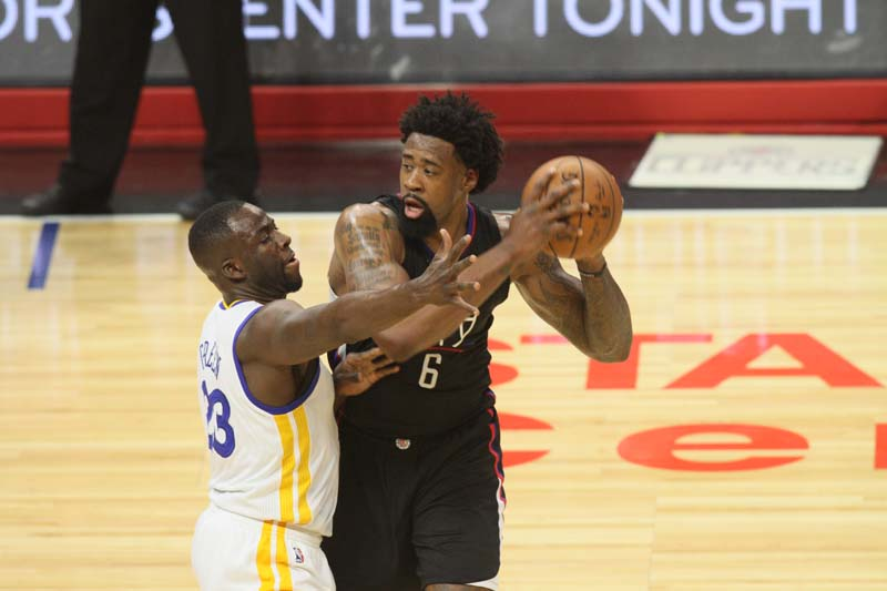 Draymond Green, and all of his bluster, was not enough to help the Goilden State Warriors win two NBA titles in a row. Photo credit: Kevin Reece/News4usonline.com