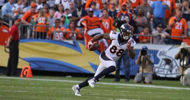 Thomas, Sanders are Broncos' 'Super' weapons
