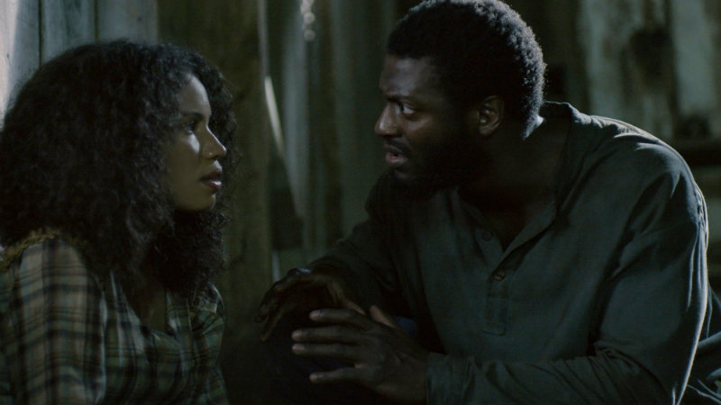 JURNEE SMOLLETT-BELL AS ROSALEE AND ALDIS HODGE AS NOAH