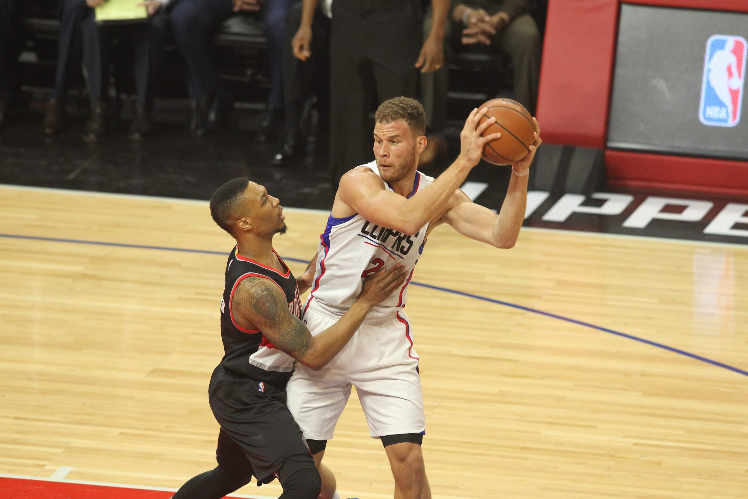 Griffin powers up against Trailblazers