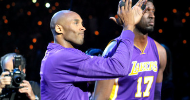 Kobe Bryant shows why he is king of LA
