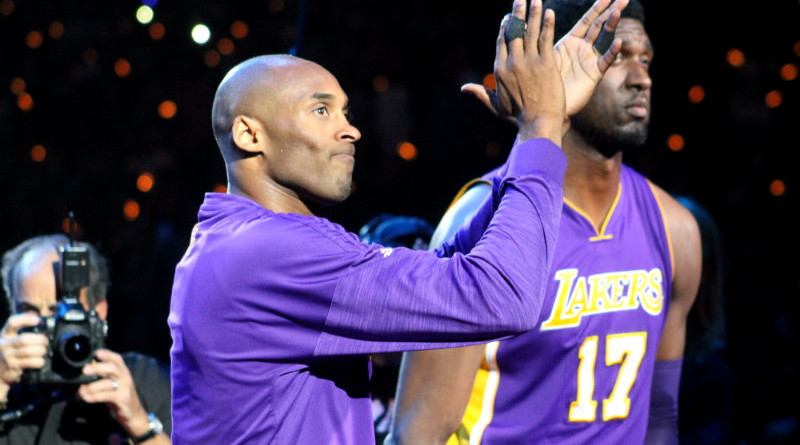 Saying good-bye to the Black Mamba.