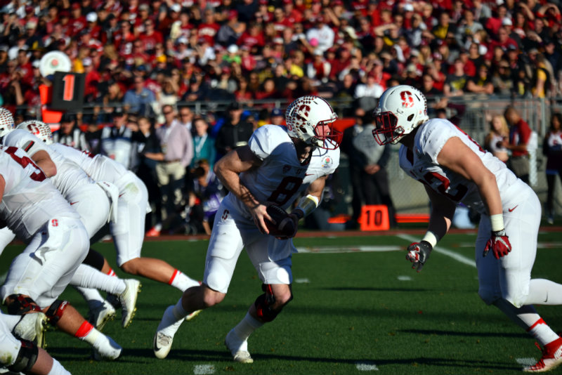 Former Stanford quarterback Kevin Hogan was selected in the fifth round of the NFL Draft by the Kansas City Chiefs. Photo by Dennis J. Freeman/News4usonline.com