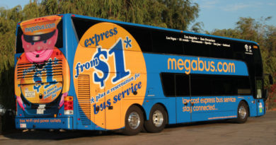 Hitting the road aboard the Megabus