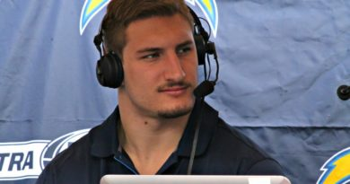 The introduction of Joey Bosa