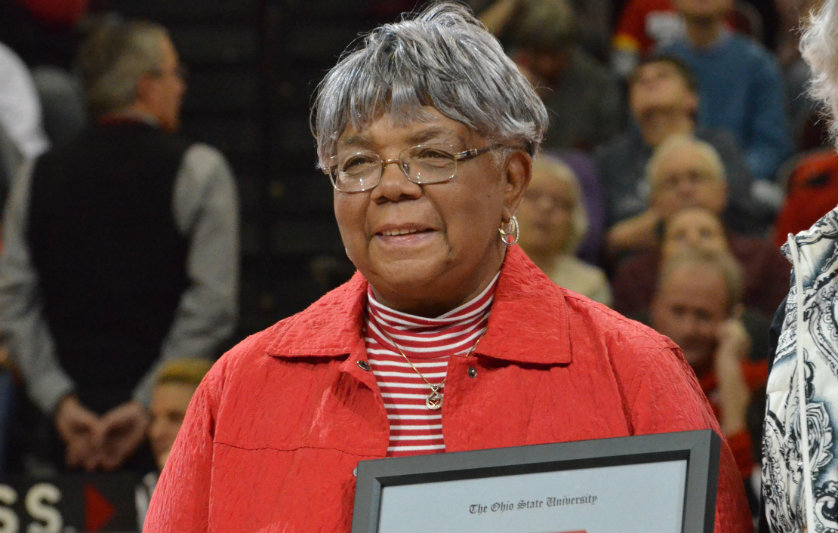 Former Ohio State track coach and Tennessee State University star Mamie Rallins. Photo Credit: Ohio State University
