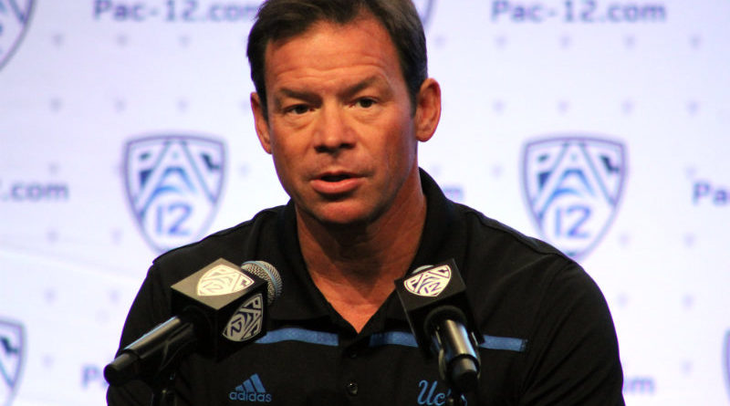 UCLA's Jim Mora stands by his man
