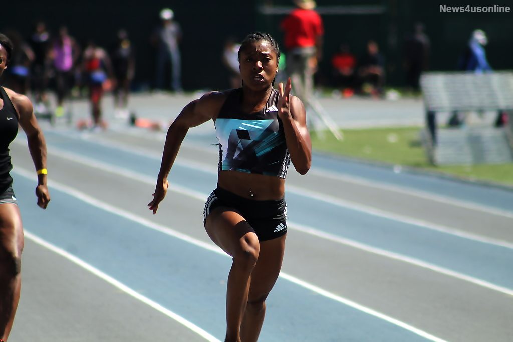 LeKeisha Lawson cooking up Olympic dream