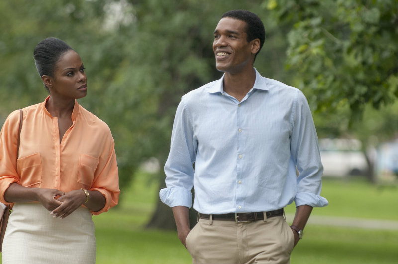 Obamas' romantic trek scores points in 'Southside with You'