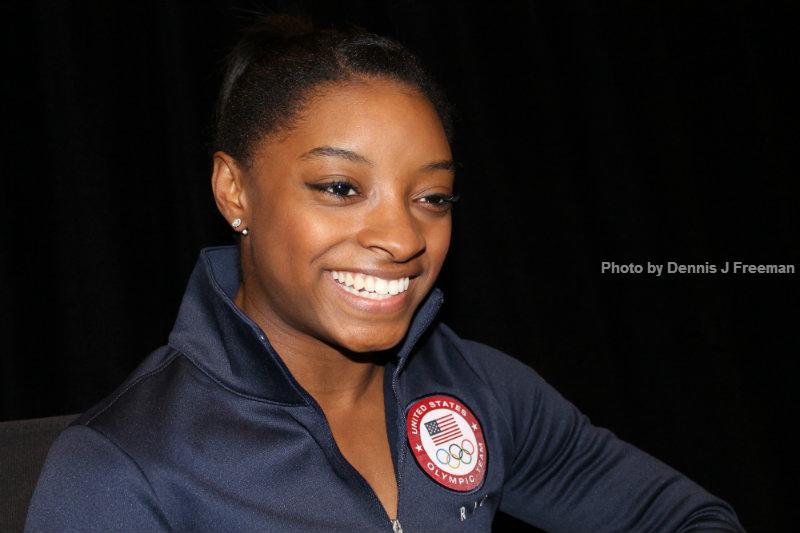 U.S. gymnast Simone Biles is the greatest American the sport has ever seen. Photo by Dennis J. Freeman/News4usonline.com