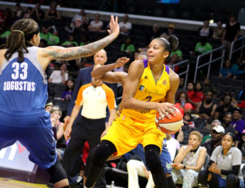 Candace Parker answers title bell for Sparks