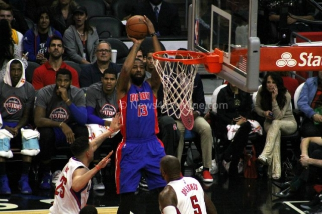 The Detroit Pistons had a dismal shooting night against the Los Angeles Clippers. Photo by Dennis J. Freeman/News4usonline.com