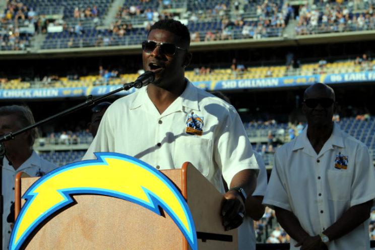 Former San Diego Chargers star LaDainian Tomlinson. Photo by Dennis J. Freeman