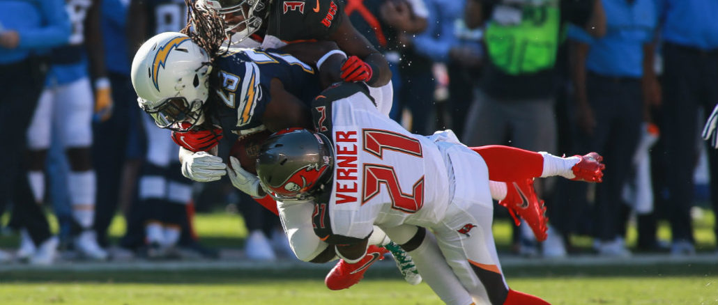 The Tampa Bay Buccaneers defeated the San Diego Chargers, 28-21, at Qualcomm Stadium on Sunday, Dec. 4, 2016. Photo by Jevone Moore/News4usonline.com