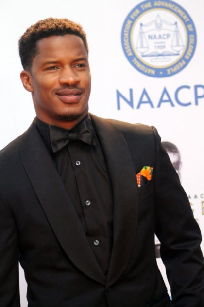 "Actor Nate Parker, who directed and starred in ""The Birth of a Nation,"" is seen here on the red carpet at the 2015 NAACP Image Awards. Photo by Dennis J. Freeman/News4usonline.com"