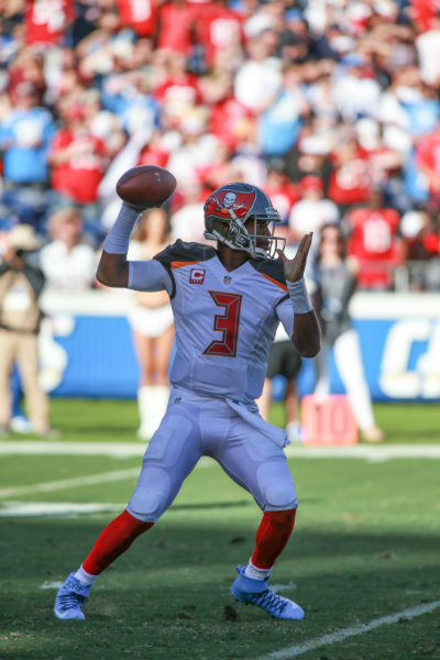 Jameis Winston passed for 280 yards and 1 touchdown in leading the Tampa Bay Buccaneers to a 28-21 win against the San Diego Chargers on Sunday, Dec. 4, 2016. Photo by Jevone Moore, News4usonline.com