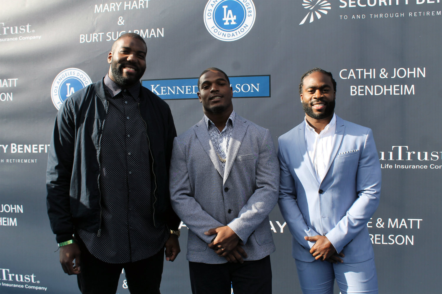 The Los Angeles Chargers were in the house. Photo by Dennis J. Freeman/News4usonline.com