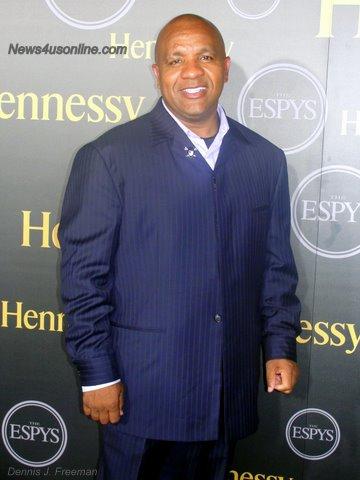 Oakland Raiders head coach Hue Jackson is the second African American coach Al Davis hired under his watch./Photo/Dennis J. Freeman