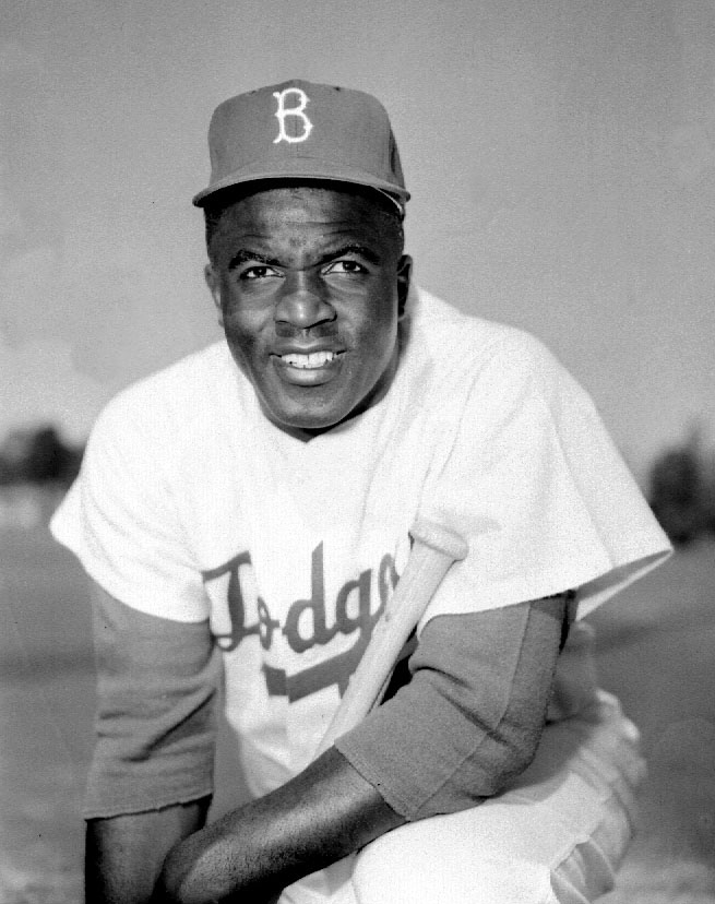 A man with a plan: Jackie Robinson is revered today as the first man to integrate Major League Baseball. Photo Credit: Los Angeles Dodgers