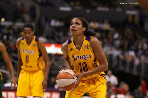 Guard Lindsey Harding is expected to give the Sparks high energy and leadership. Photo Credit: Erlinda Olvera / News4usonline.com