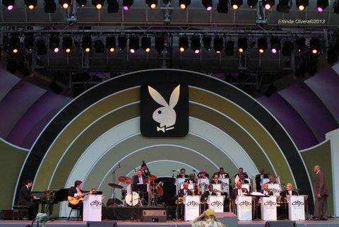 The Clayton-Hamilton Jazz Orchestra. Photo Credit: Erlinda Olvera / News4usonline.com